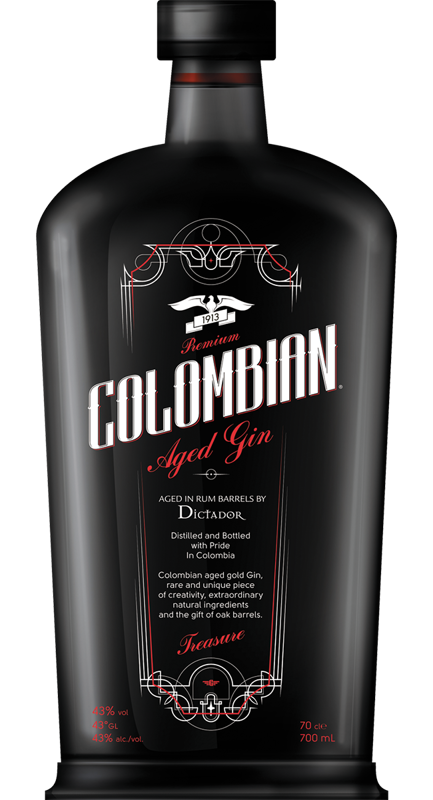 Colombian Aged Gin Treasure