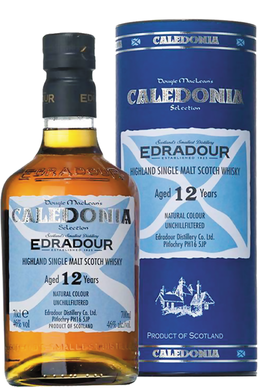 Edradour 12 Years Old Caledonia Highland Single Malt Scotch Whisky