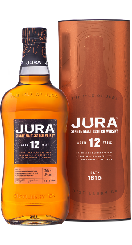 Jura 12 Year Old w tubie